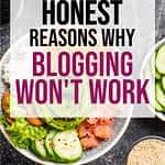 Five Reasons Why You Should Not Start A Blog