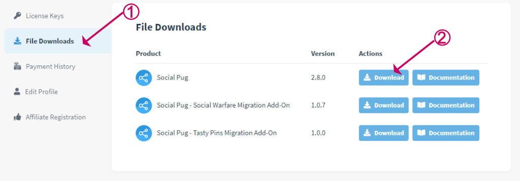Devpups social pug plugin download