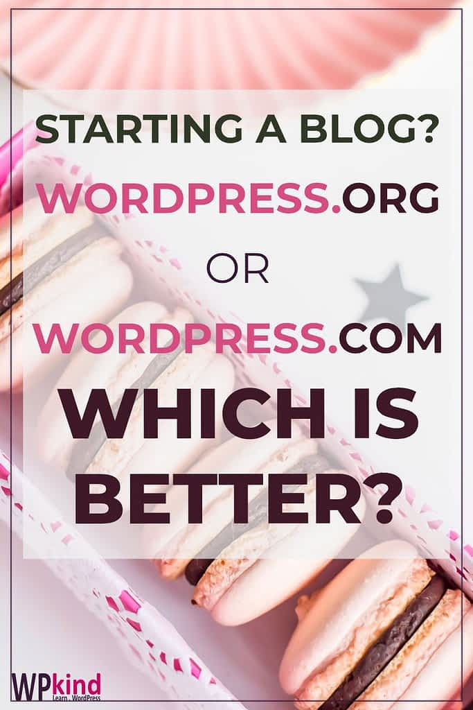 WordPress.org vs WordPress.com - Which Should I Choose?