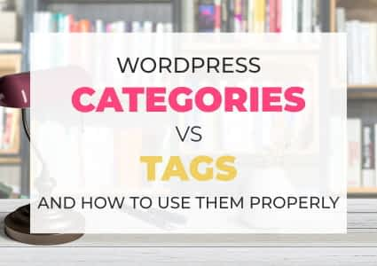 Categories VS Tags In WordPress