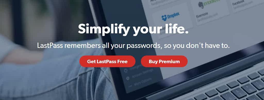 Lastpass password manager