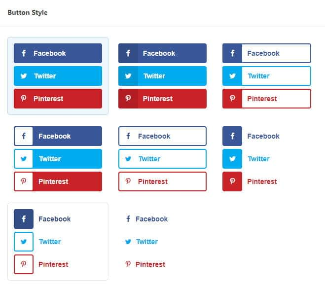 Grow social pro inline content button style