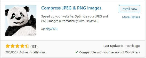 tinypng wordpress plugin