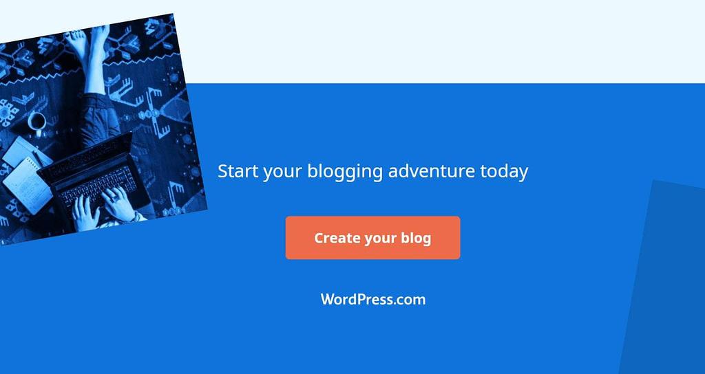 Wordpress.com free blog hosting