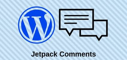 Jetpack comments