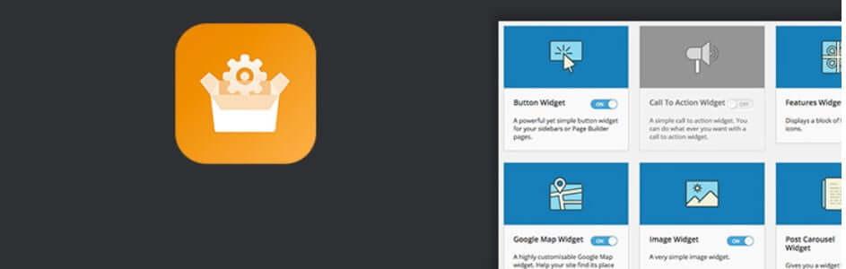 SiteOrigin Widgets Bundle WordPress plugin